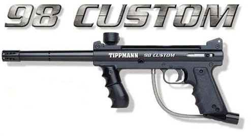 98 custom tippmann paintball gun