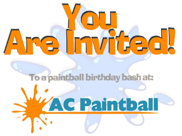 ac paintball birthday party